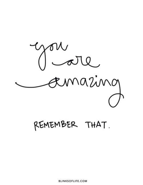 you are amazing - By Megan Kelly