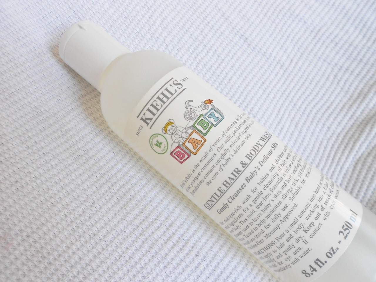 Kiehls Gentle Baby Hair and Body Wash - By Megan Kelly