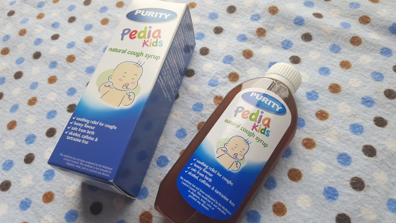 Purity Pedia Kids Natural Cough Syrup - By Megan Kelly