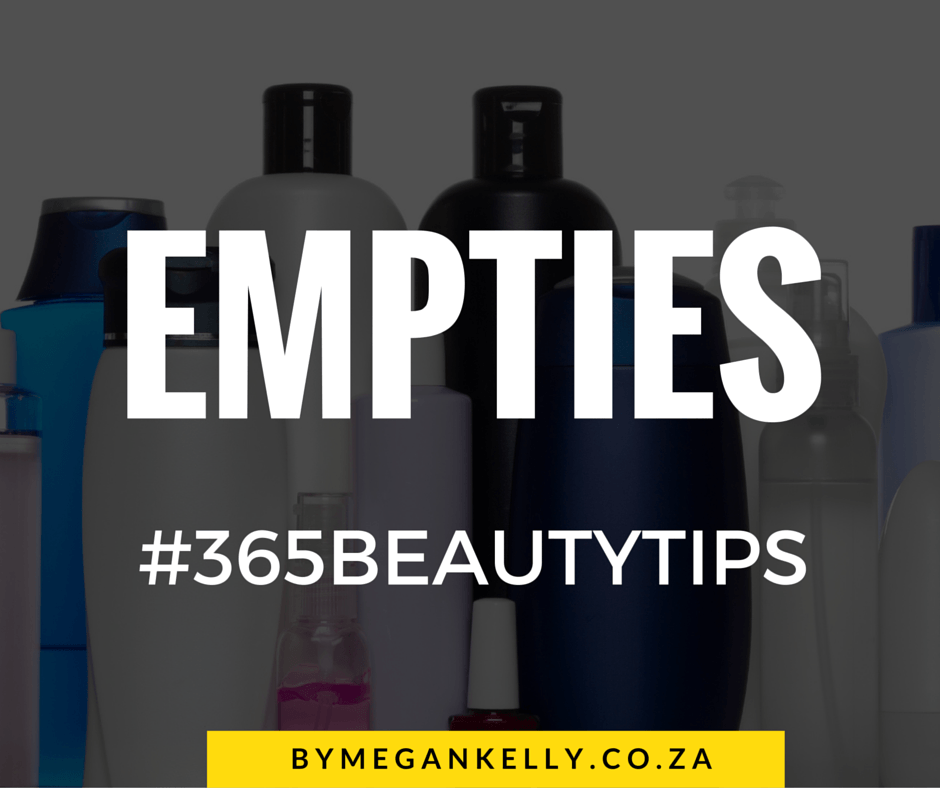 #365BEAUTYTIPS - By Megan Kelly