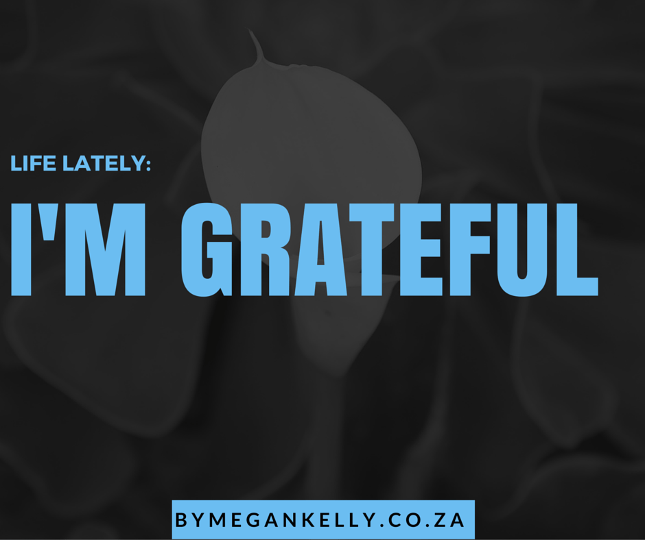 Life Lately Grateful - By Megan Kelly