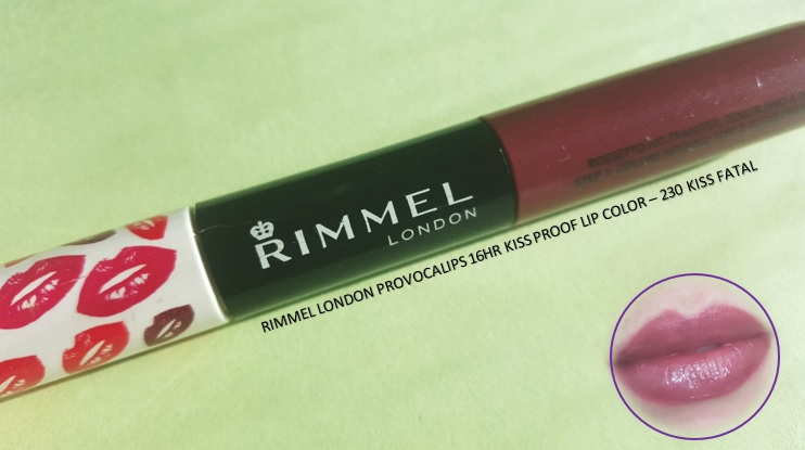 Rimmel London Provocalips - By Megan Kelly