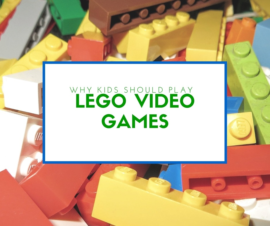 LEGO video games - By Megan Kelly
