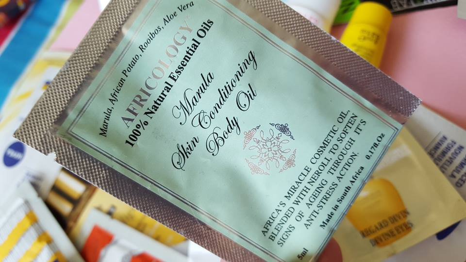 Africology Marula Conditioning Body Oil - By Megan Kelly