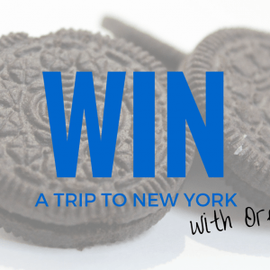 Giveaway: Travel Tips PLUS WIN a trip to NYC with Oreo