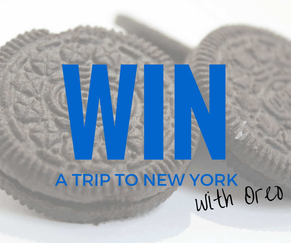 Win a trip to New York with Oreo - By Megan Kelly