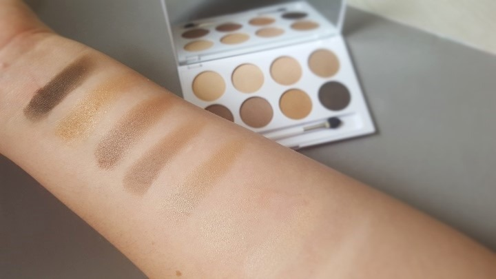CATRICE Treasure Trove Palette Swatches - By Megan Kelly