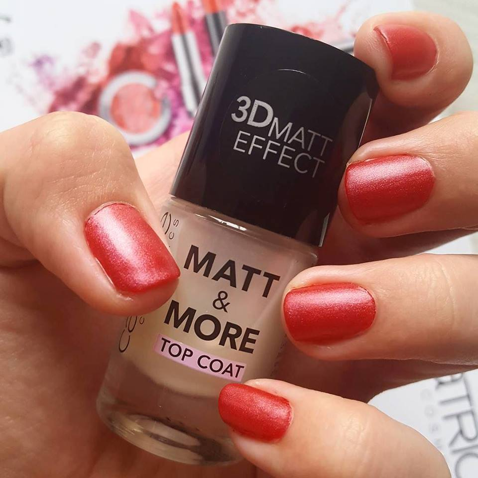 CATRICE Matt & More Top Coat - By Megan Kelll