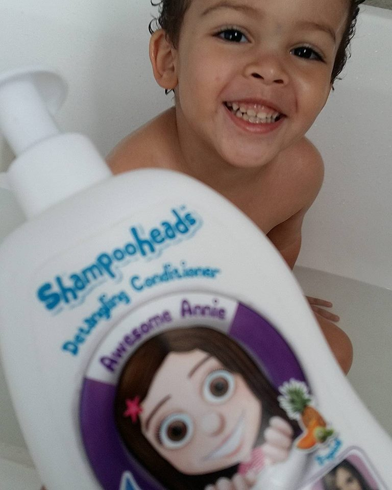 Shampoo heads Awesome Annie Detangling conditioner - By Megan Kelly