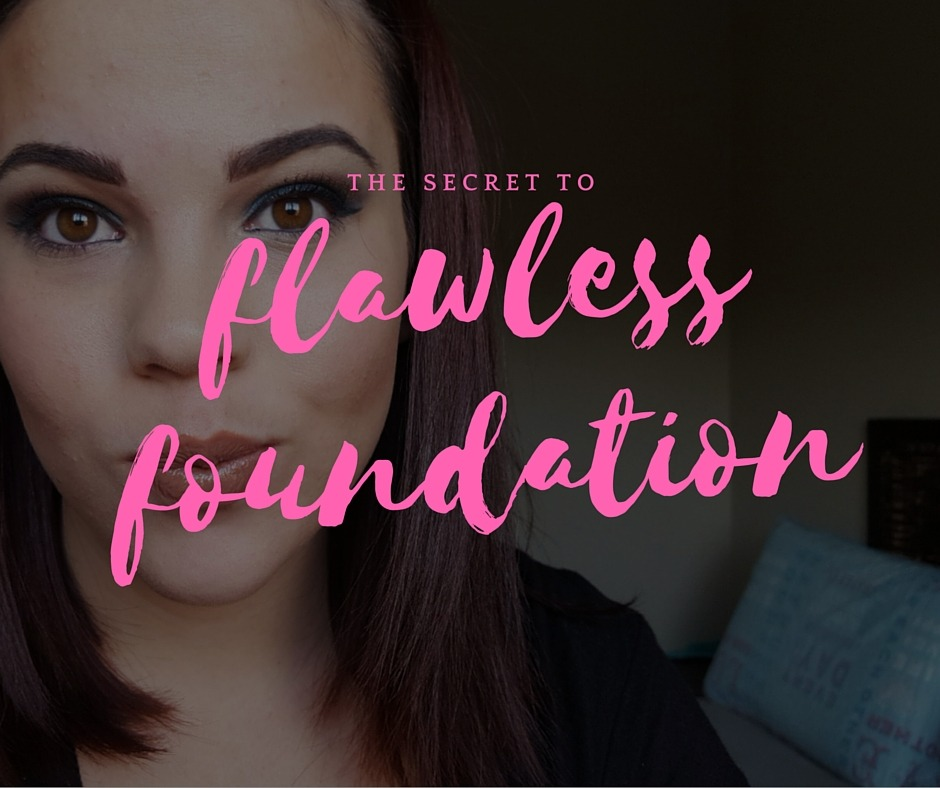 flawless foundation - By Megan Kelly