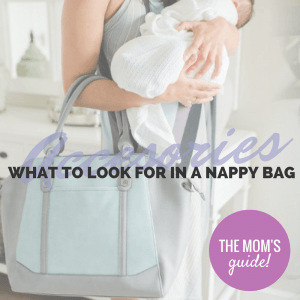 What to look for in Nappy Bag