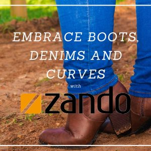 Embracing Denims, Boots and Curves with Zando