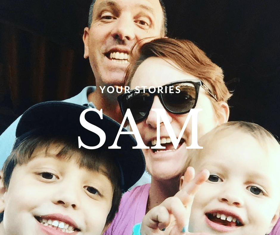 your storiees Sam - By Megan Kelly