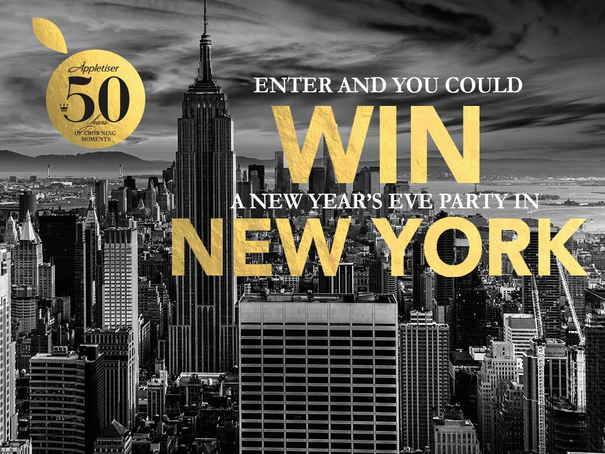 Win a Trip to New York Appletiser - By Megan Kelly