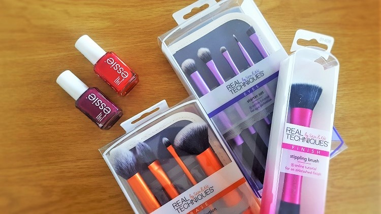 Real Techniques Brushes Essie Nail Polish - By Megan Kelly