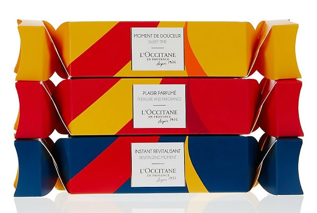 L'Occitane Christmas Cracker Trio - By Megan Kelly