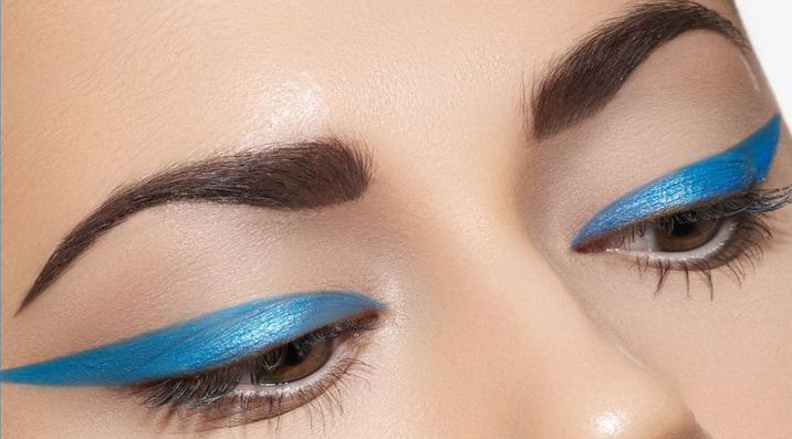 bold colour eyeliner - By Megan Kelly