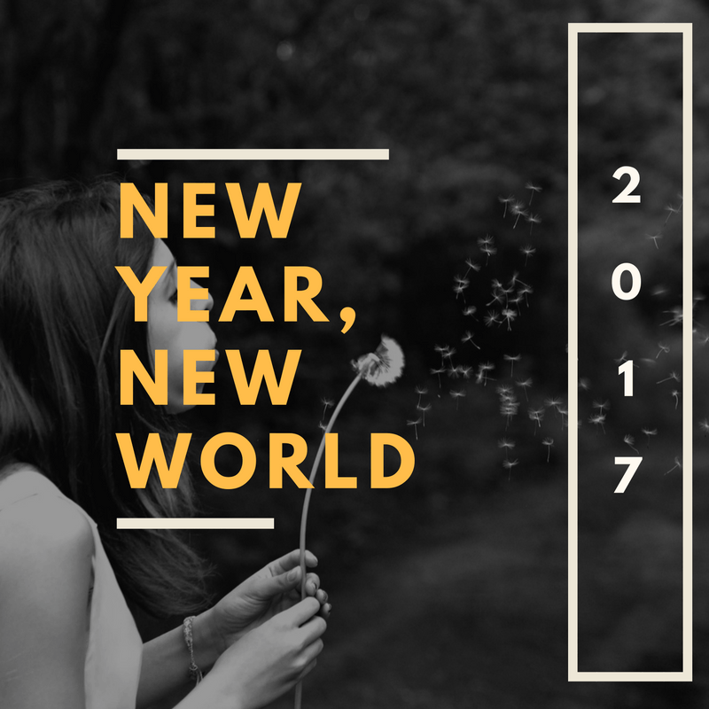 new years, new resolutions - By Megan Kelly