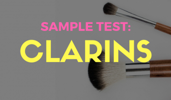 [#365BeautyTips] Clarins Sample Test