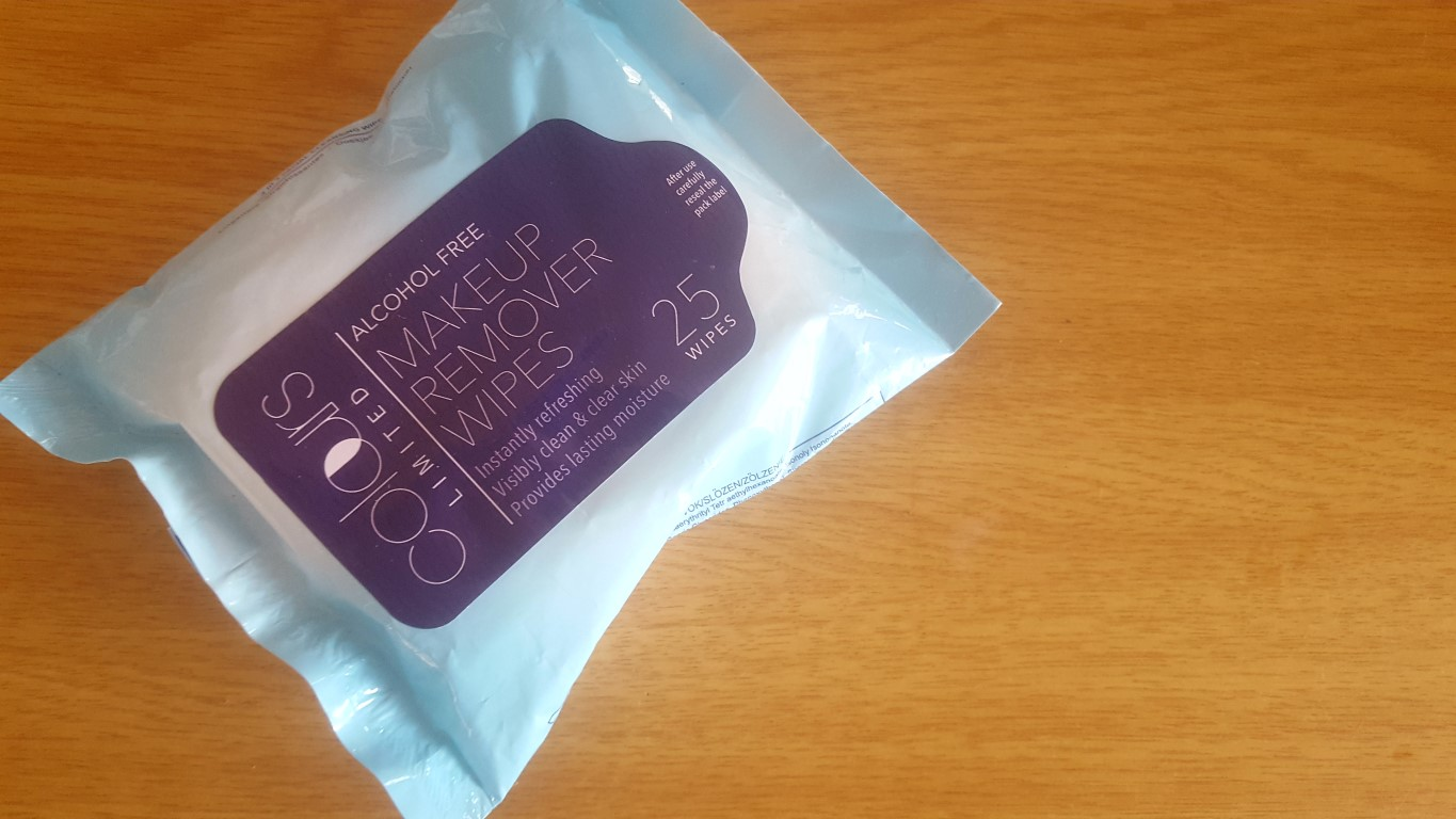Colours Limited Makeup Wipes - By Megan Kelly