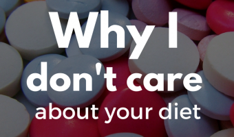 Why I don't care to hear about your diet