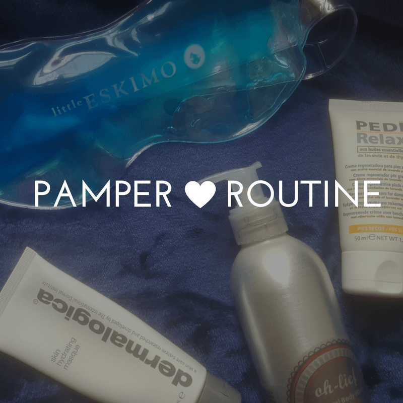 Pamper Rotuine - By Megan Kelly