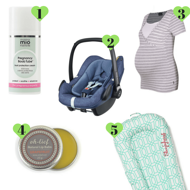 products to survive a newborn - By Megan Kelly