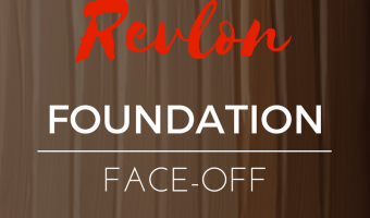 Revlon Foundation Face-Off
