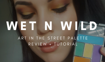 Wet n Wild Art in the Street Palette Review and Tutorial