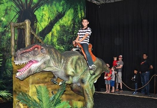 DinosAlive exhibition - By Megan Kelly