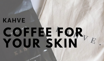 Wake up your skin with KAHVE Skin