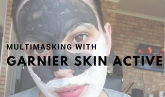 Multimasking with Garnier Pure Active 3-in-1
