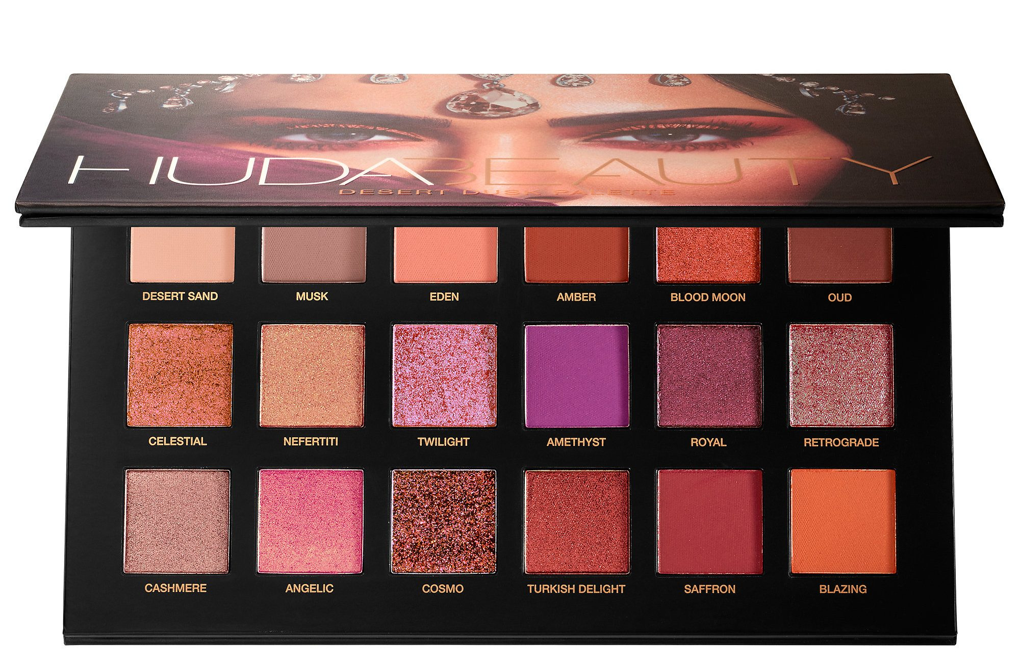 Huda Beauty's Desert Dusk Palette  By Megan Kelly