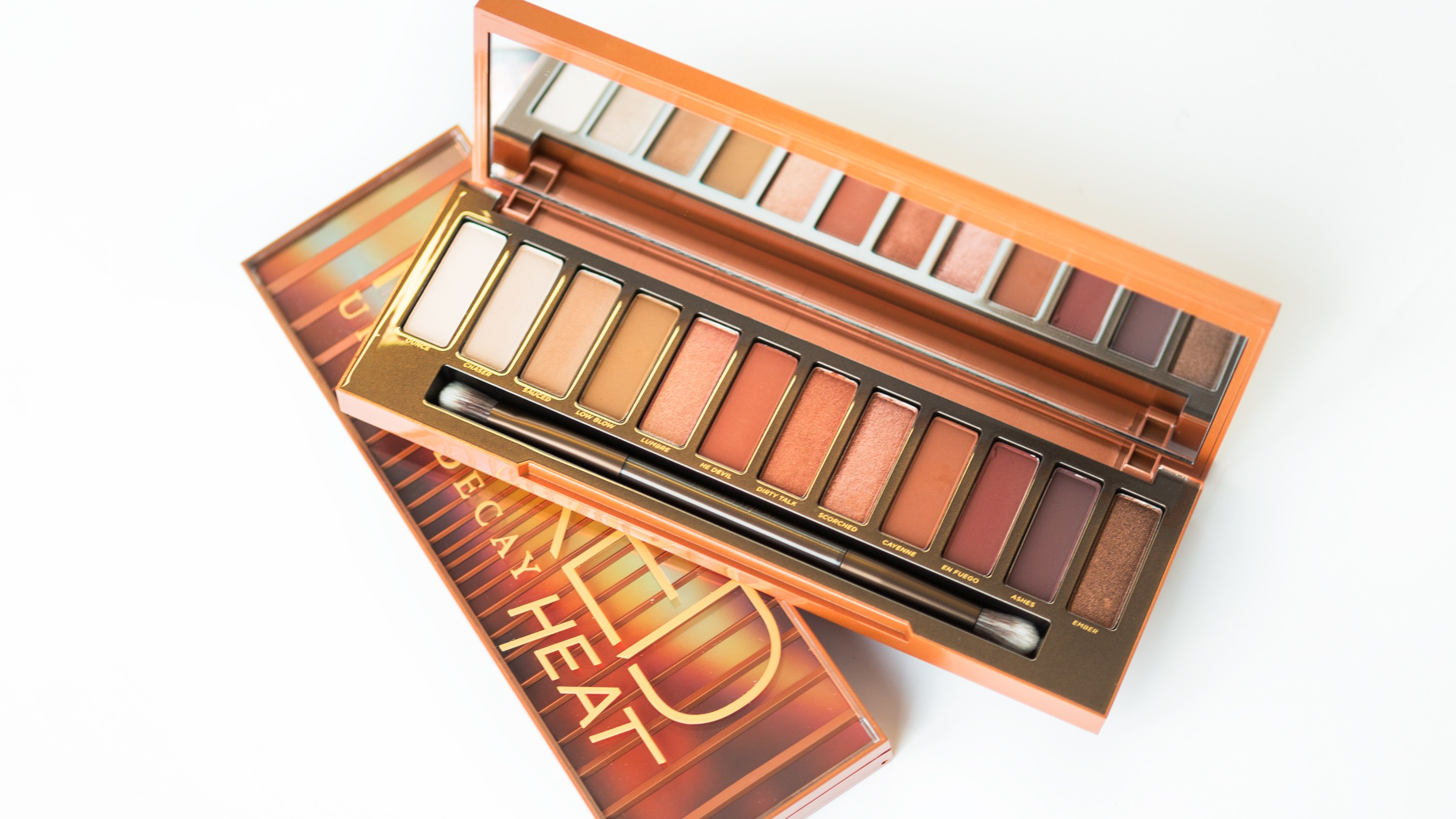 Urban Decay's Naked Heat Eyeshadow - By Megan Kelly