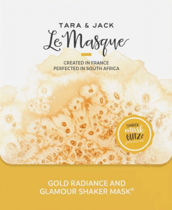 Tara & Jack Gold Radiance and Glamour Shaker Mask The Beautiful Store - By Megan Kelly