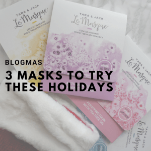 [WIN] 3 Masks to Try these Holidays