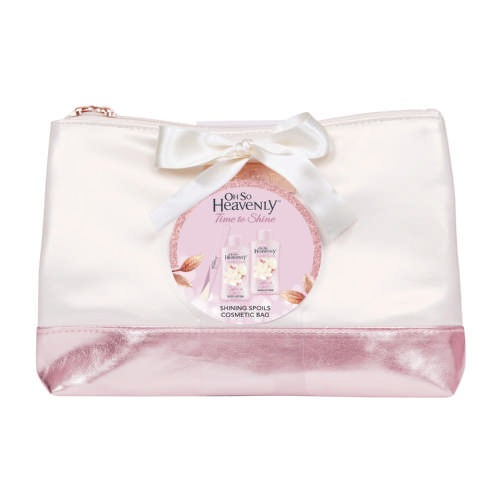 Time To Shine Shining Spoils Cosmetic Bag - By Megan Kelly