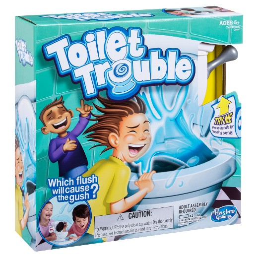 Toilet Trouble - By Megan Kelly