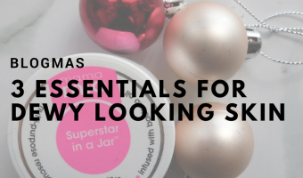 [WIN] 3 Essentials for Dewy Looking Skin