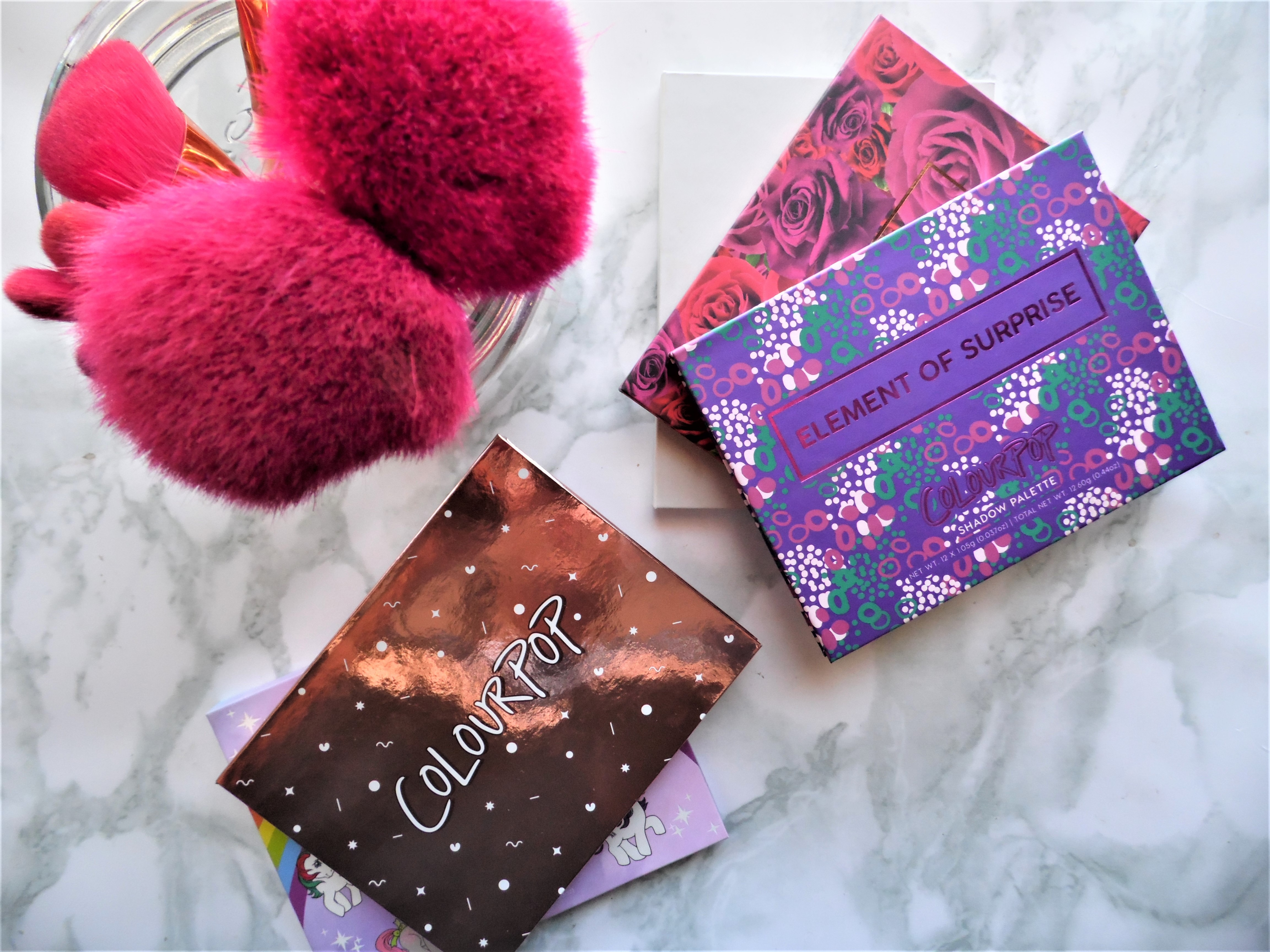 ColourPop Eyeshadow Palettes - By Megan Kelly