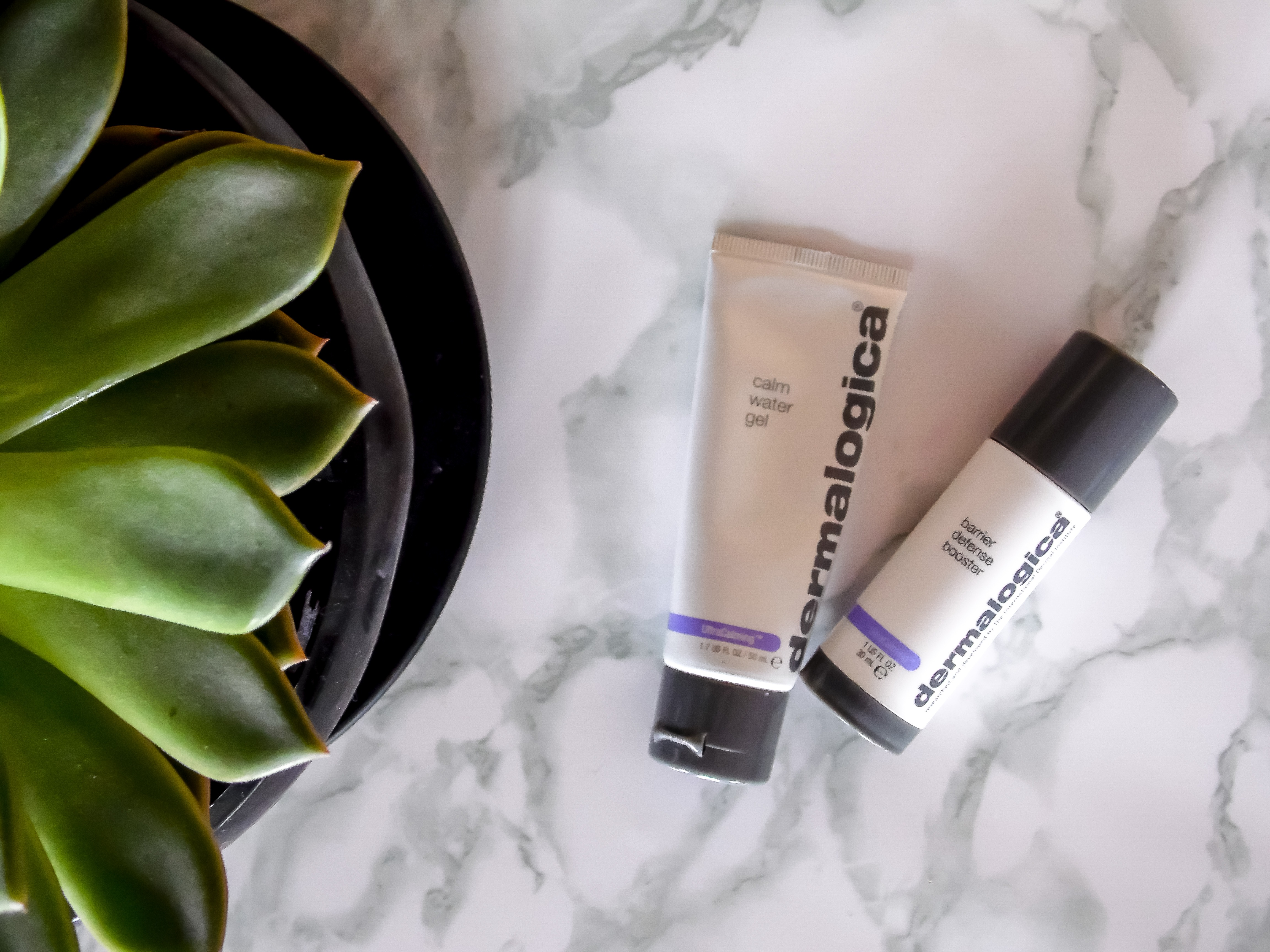 Dermalogica Calm Water Gel and Booster Barrier Defense - By Megan Kelly