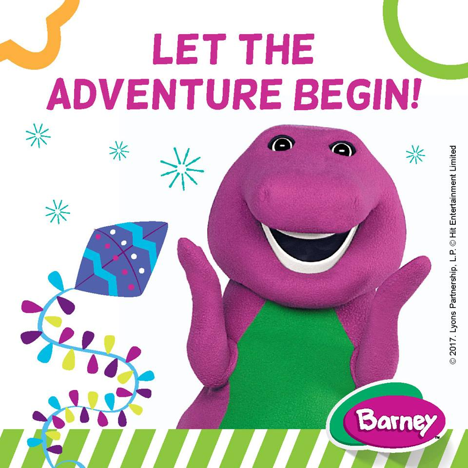 Barney and Friends Floor Puzzles - By Megan Kelly