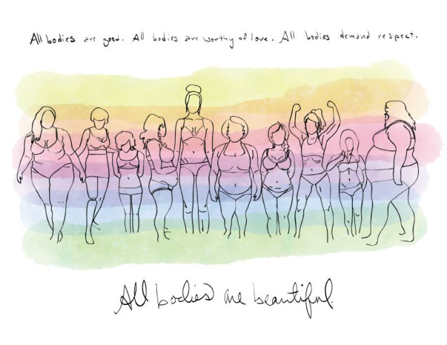Body Positive - By Megan Kelly