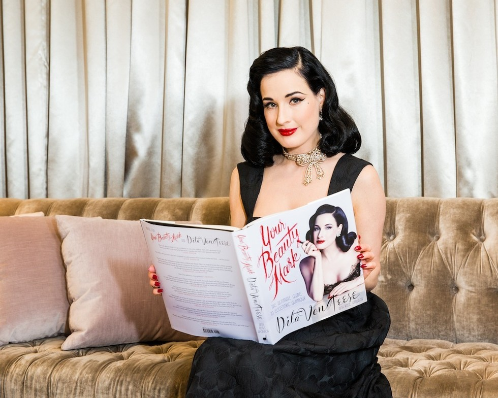 Dita Von Teese Your Beauty Mark - By Megan Kelly
