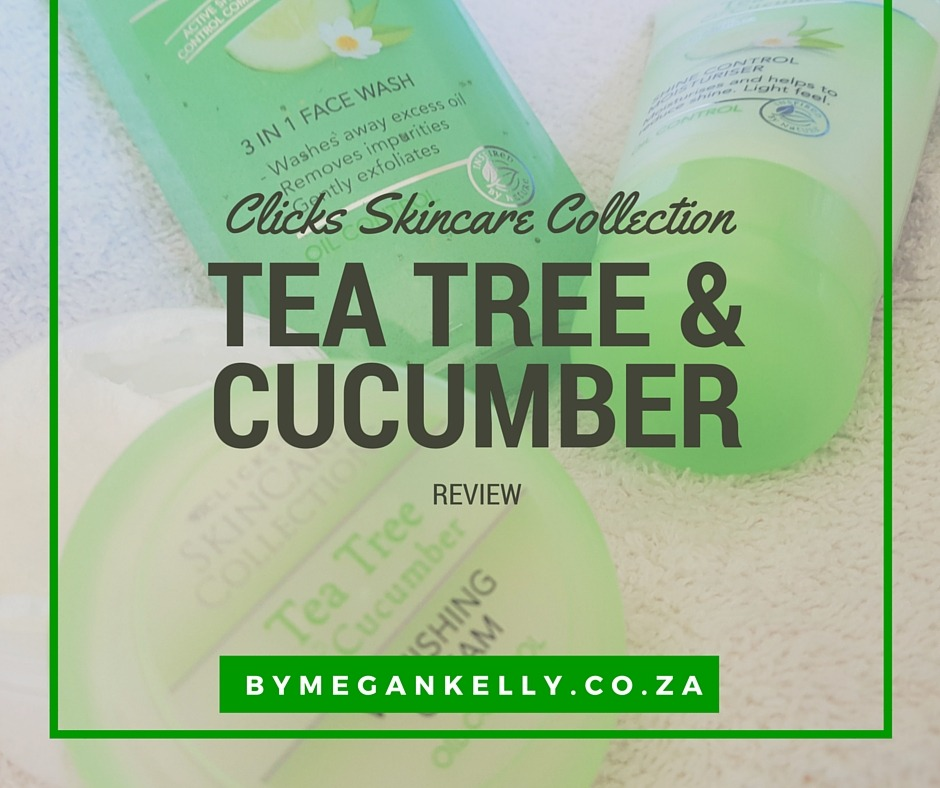 Clicks Skincare Collection Tea Tree & Cucumber Skincare - By Megan Kelly