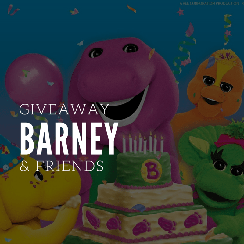 Barney and Friends Giveaway - By Megan Klely