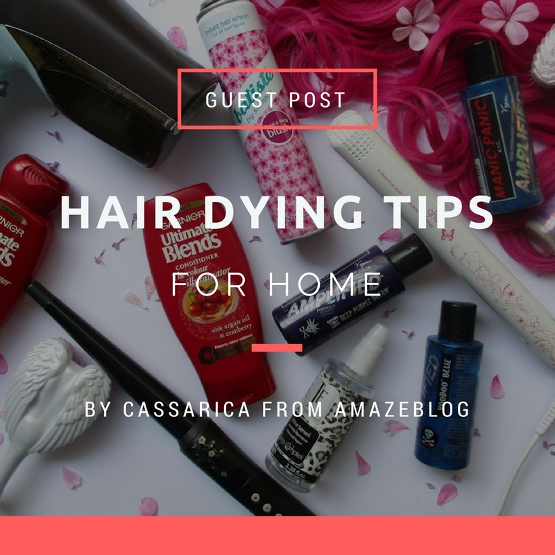 hair dying tips for home - By Megan Kelly