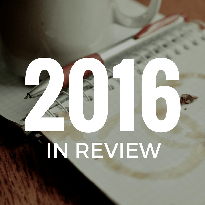 2016 review - By Megan Kelly