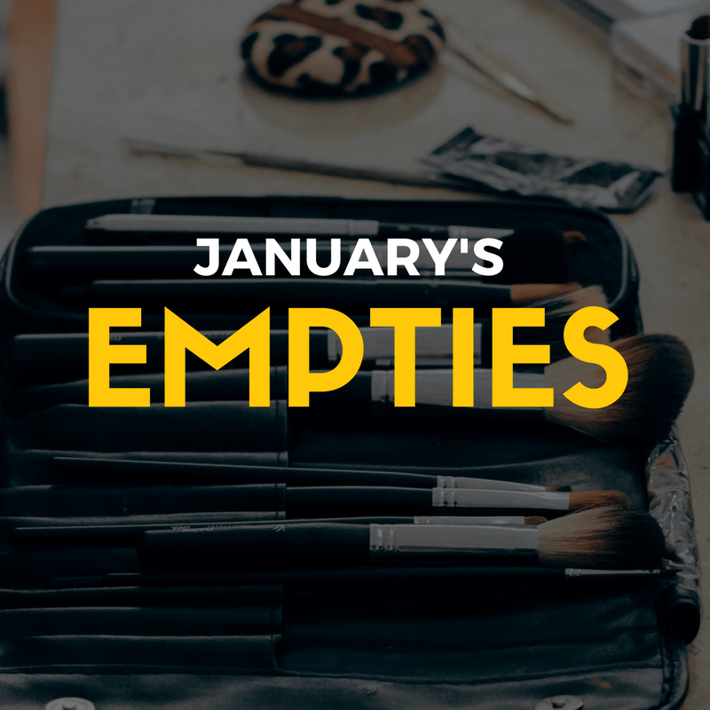 January Hits, Misses and Empties - By Megan Kelly