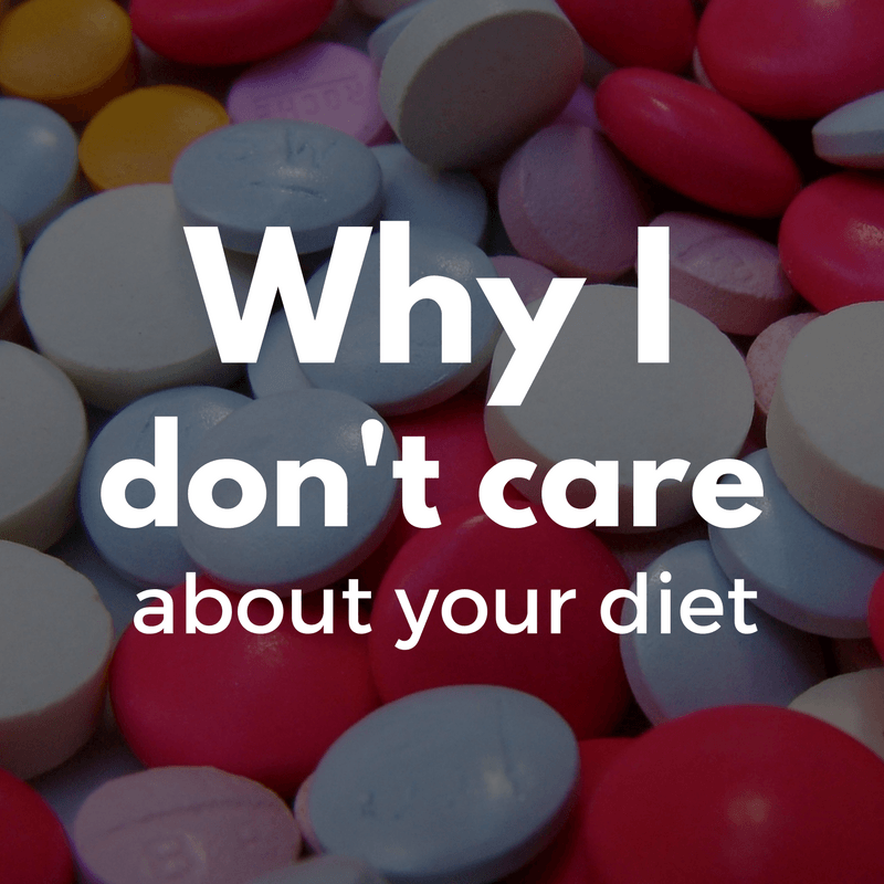 Why I don't care about your diet - By Megan Kelly